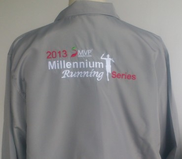2013 Millennium Running Series Jacket