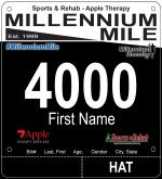 Millennium Mile Bib