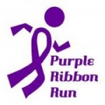 purple ribbon run