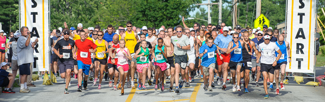 Manchester Mile and 5K start in New Hampshire