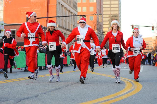 Santa Claus Shuffle Manchester NH