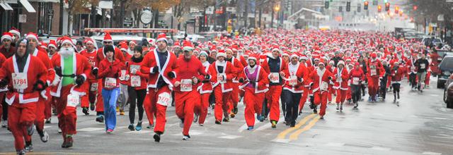 Santa Clause Shuffle Manchester NH