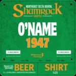 Shamrock Bib online