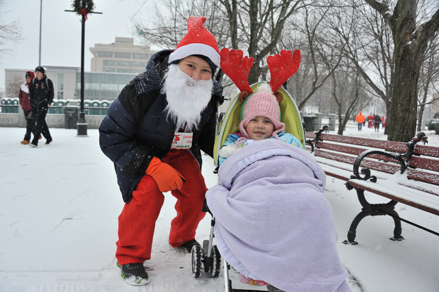 Union Leader: Johnson, Garfield Capture BASC Santa Claus Shuffle Wins