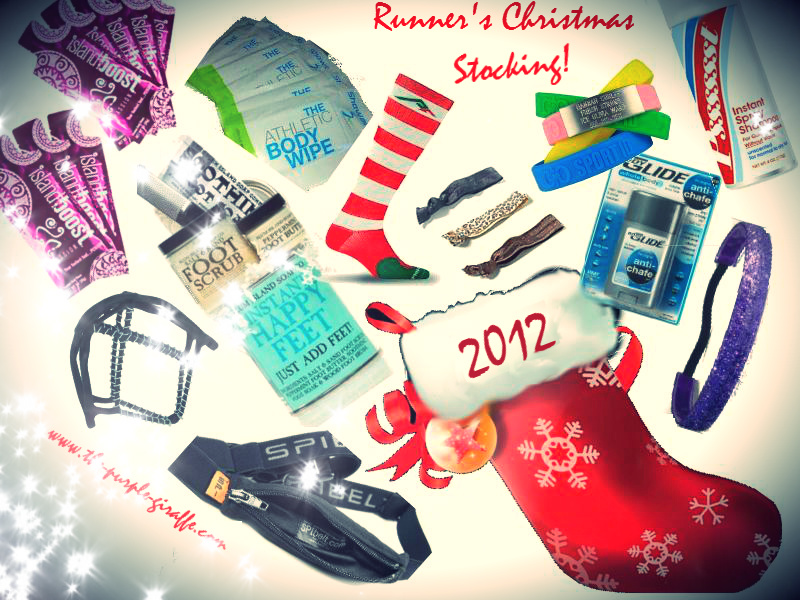 Voices From the Pack: Presenting the RUNNER'S CHRISTMAS STOCKING 2012!