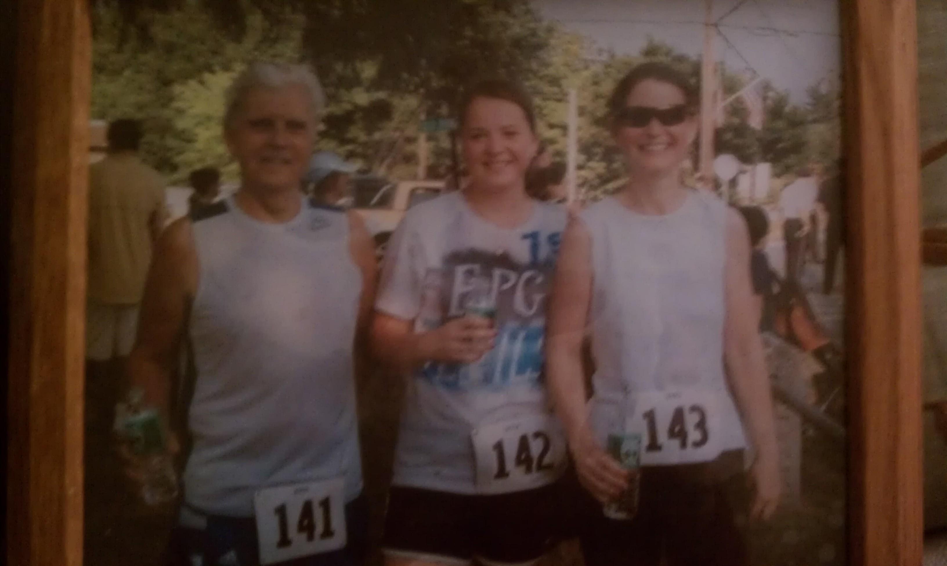Three Generations of Runners!