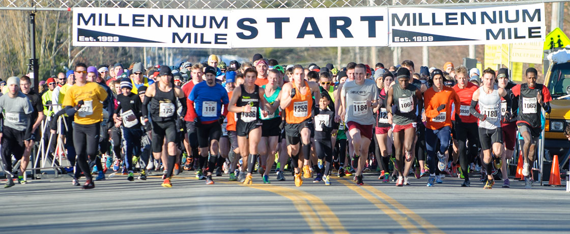 Millennium Mile 2013 start