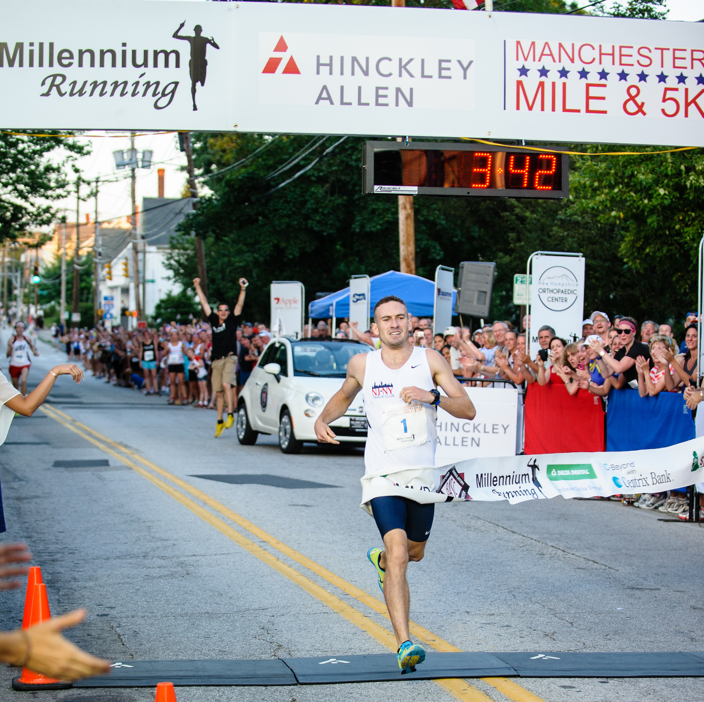 NEWS: Brian Gagnon Breaks the Finish Tape and His Own Record