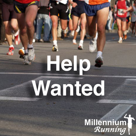 Help Wanted: Millennium Running Events