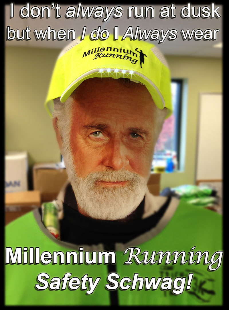 NEWS: Millennium Running LED Hats