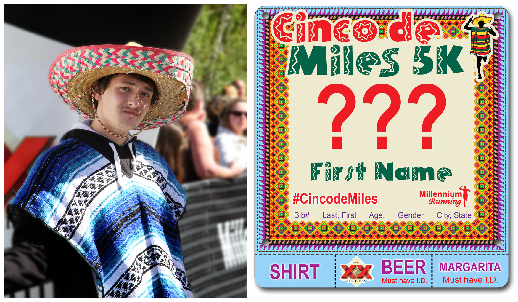 BIB NUMBERS: Cinco de Miles 5K 2014