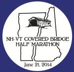 NH VT Covered Bridge circle