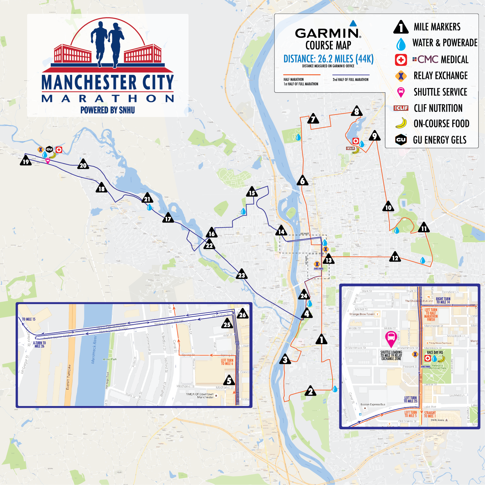 Manchester City Marathon powered by SNHU - MillenniumRunning.com