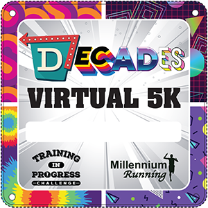 RESULTS: Training In Progress Challenge: Decades Virtual 5k – 2020