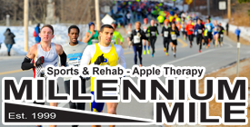 PHOTOS: Apple Therapy – Sports & Rehab – Millennium Mile 2015