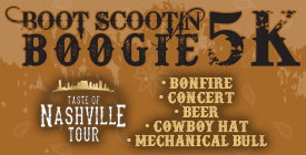 RESULTS: Boot Scootin' Boogie 5k