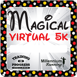 RESULTS: Training In Progress Challenge: Magical Virtual 5k – 2020
