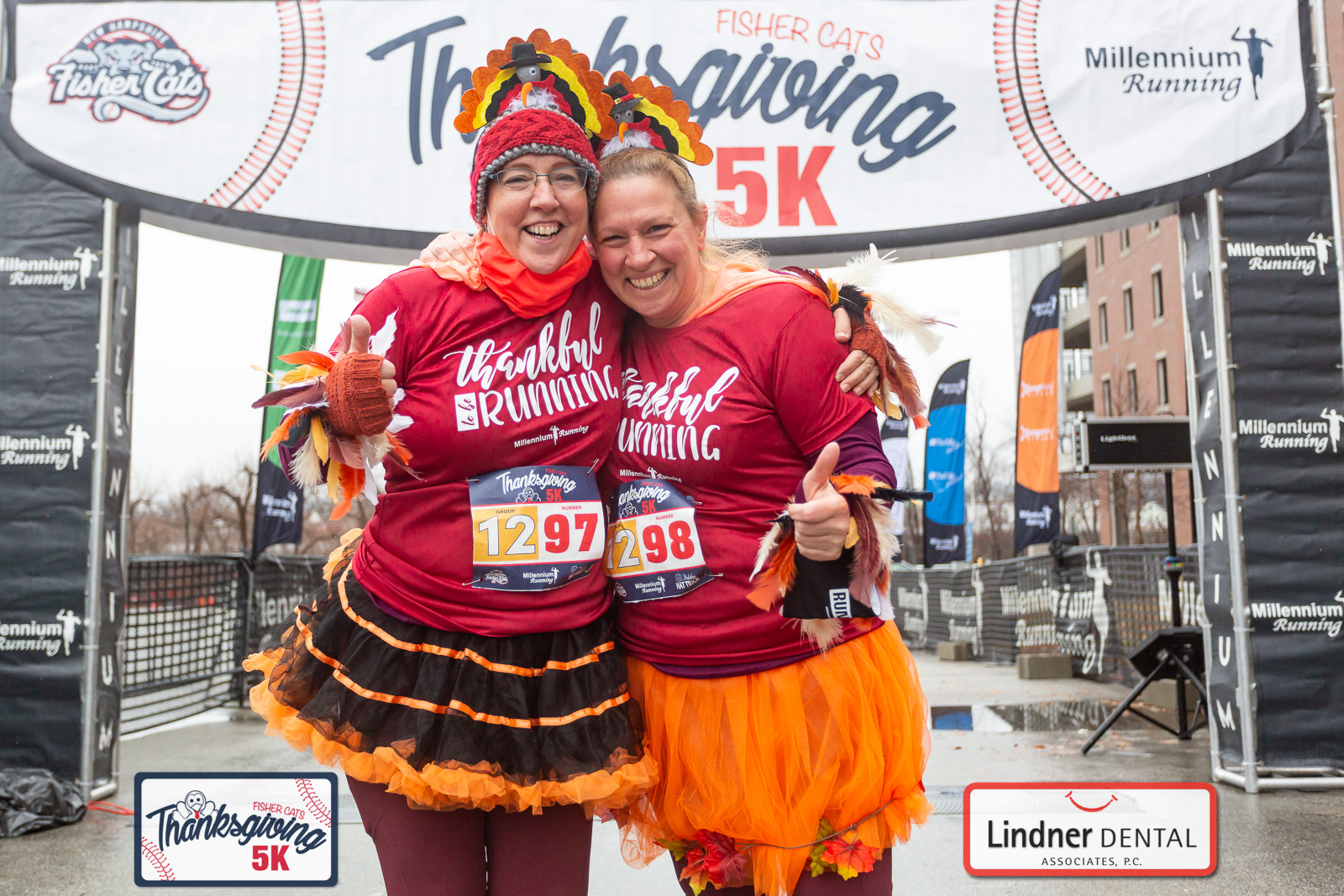PHOTOS: NH Fisher Cats Thanksgiving 5k – 2020