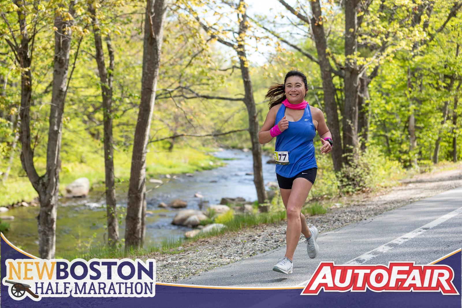 PHOTOS: New Boston Half Marathon – 2021