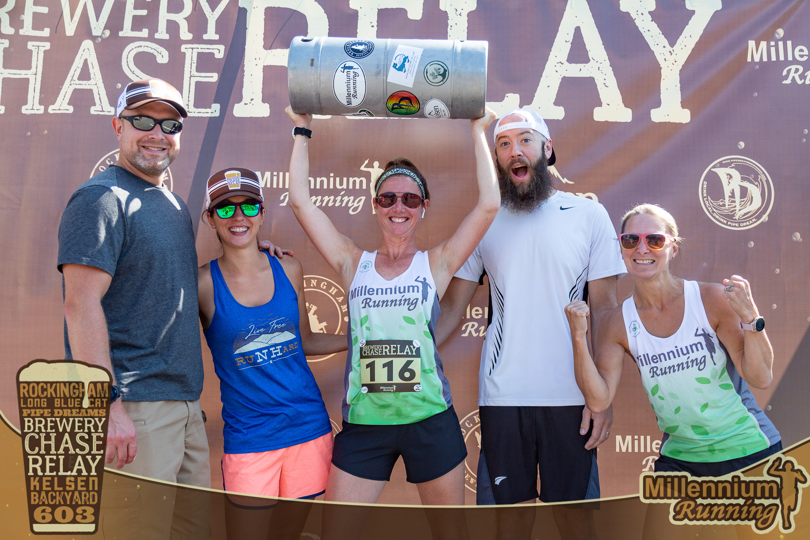 PHOTOS: Brewery Chase Relay – July 24, 2021