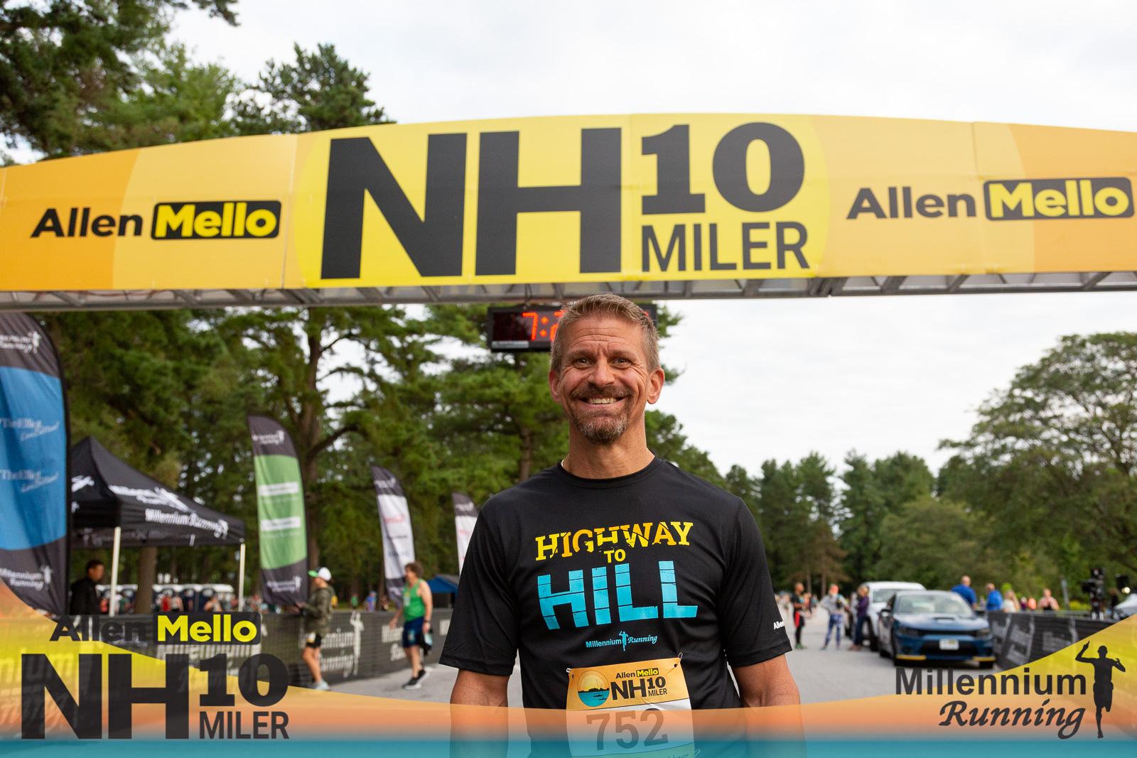 PHOTOS: Allen Mello NH 10 Miler – 2021